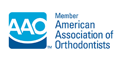 Logo to show our Souderton Orthodontist is a member of the AAO