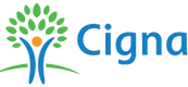New Patients in Souderton can use their Cigna insurance as indicated by this logo